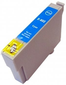 T0802 compatibel inktpatroon cyaan - 15 ml