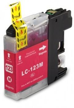 LC123 Compatibel inktpatroon magenta - 10 ml