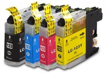 LC123 Compatibel inktpatronen Set - 4 stuks