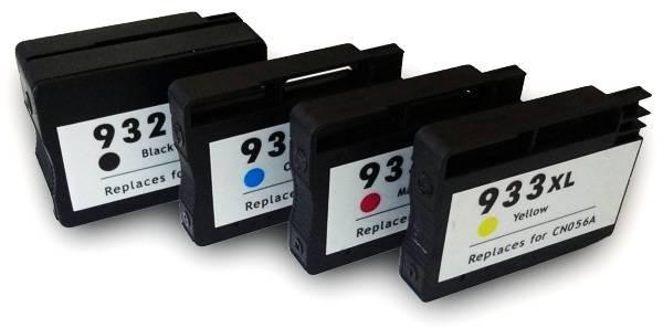 932XL / HP933XL Compatibel inktpatronen XL voordeel set - 4 stuks
