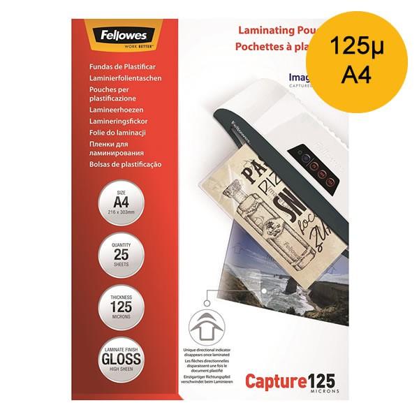 Lamineerhoes A4 125micron - Pak à 25 Stuks