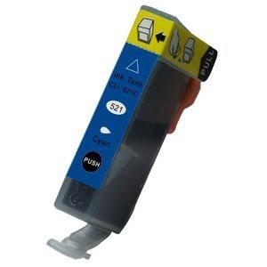 CLI-521C compatibel inktpatroon cyaan - 11 ml