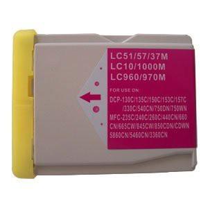 LC1000/LC970 compatibel inktpatroon magenta - 28 ml XL