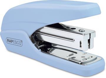 Rapesco nietmachine X5-25ps met eenvoudige bediening, poederblauw, op blister