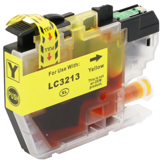 LC3213 XL compatibel inktpatroon Geel - 10 ml