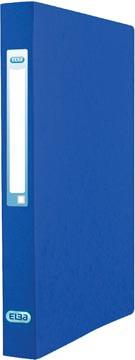 Elba Eurofolio ringmap uit karton, voor ft A4, 2 ringen, blauw