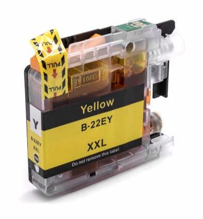 LC22E XL compatibel inktpatroon Geel - 16 ml