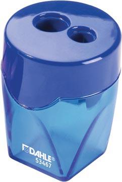 Dahle potloodslijper 2-gaats, blauw