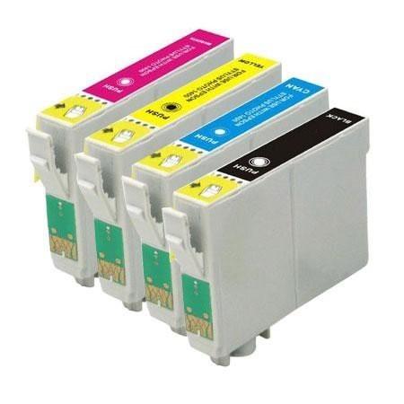T0551-T0554 compatibel inktpatronen Voordeel set - 4 stuks