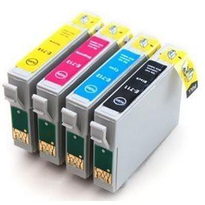 T0711-T0714 compatibel inktpatronen Voordeel set - 4 stuks