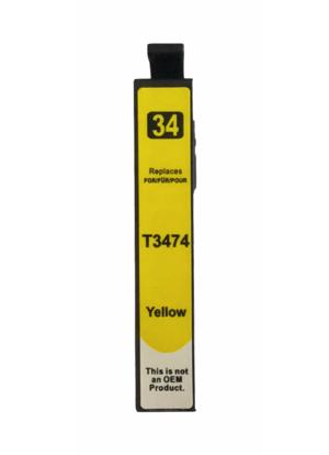 T3474 Compatibel inktpatroon 34XL Geel - 13.5 ml