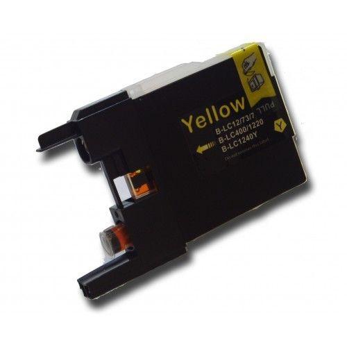 LC1220/1240 compatibel inktpatroon geel - 10 ml