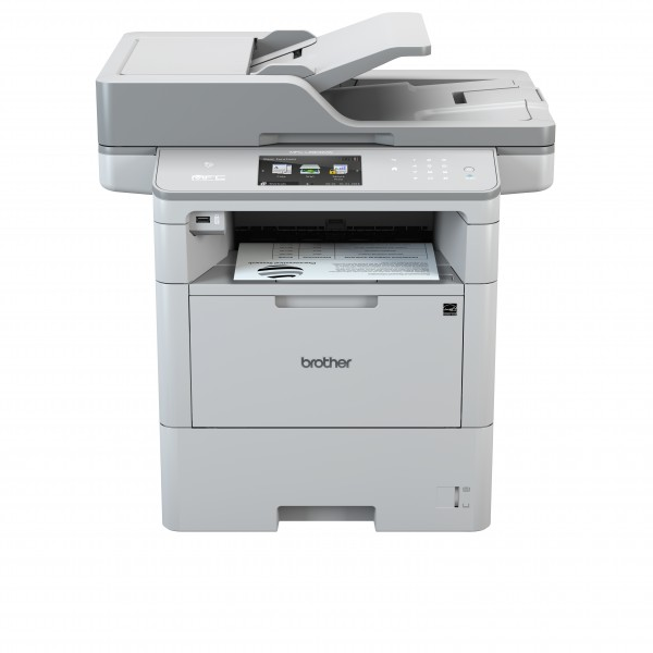 Draadloze printer Brother MFC-L6800DW - A4 zwart-wit multifunctional