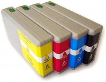 T7011-T7014 compatibel inktpatronen XL Voordeel set - 4 stuks