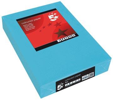 5 Star donkerblauw ft A4, 80 g, pak van 500 vel