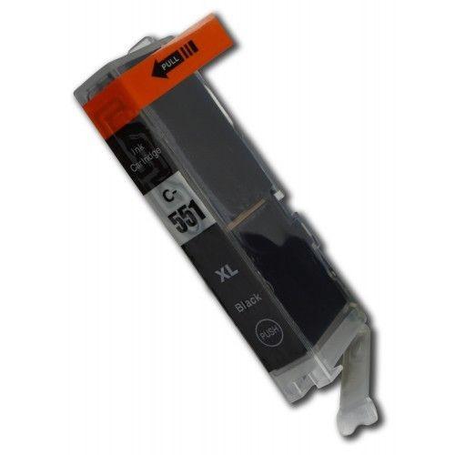 CLI-551BK compatibel inktpatroon zwart - 11 ml