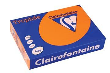 Clairefontaine Trophée Intens A4, 80 g, 500 vel, feloranje