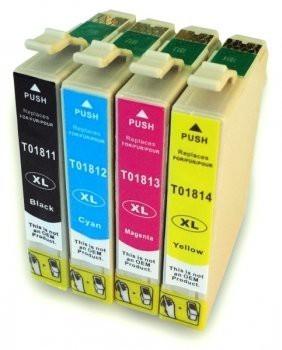 T1811-T1814 compatibel inktpatronen 18XL set - 4 stuks