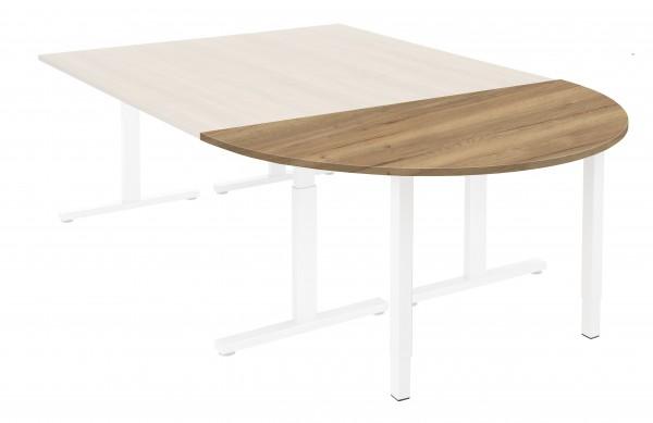 Aanbouwtafel Vamo - Halfrond