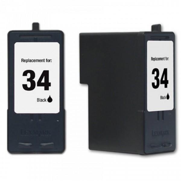 Compatibel inktpatroon No.34 Zwart