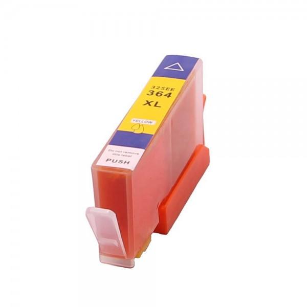 364 XL compatible inkpatroon geel - 18 ml