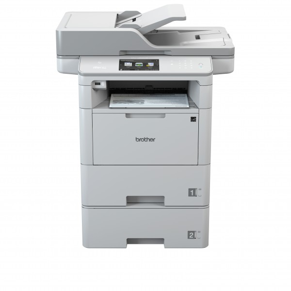 Draadloze printer Brother MFC-L6800DWT - A4 zwart-wit multifunctional