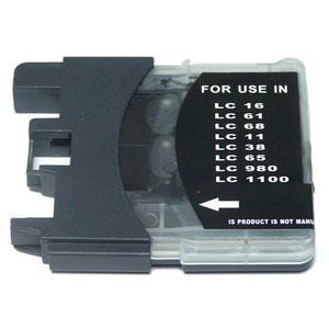 LC1100/LC980 compatibel inktpatroon zwart - 28 ml