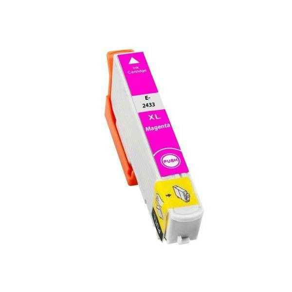 T2433 Compatibel inktpatroon 24XL magenta - 10 ml