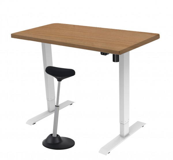 Elektrisch zit-sta bureau 160x80cm - Combi aanbieding!