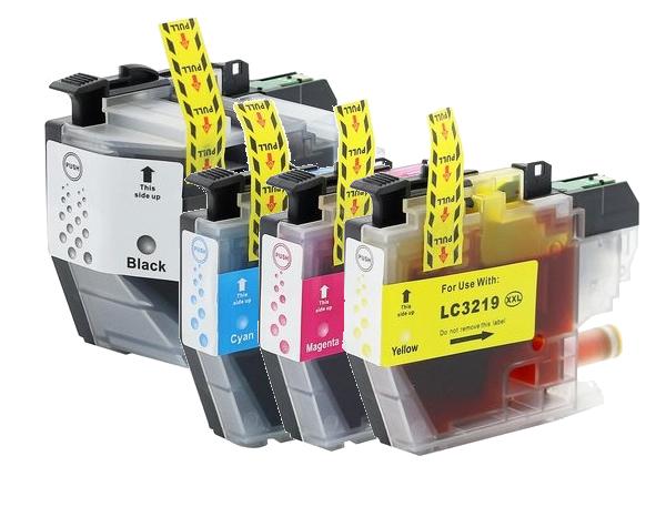 LC3219-LC3217 XL Set compatibel inktpatronen - 4 stuks