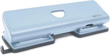 Rapesco metalen 4-gaatsperforator 720 poederblauw
