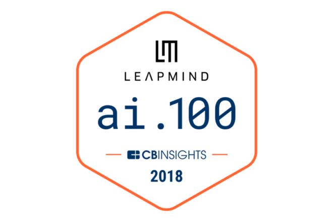 米調査サービス CBINSIGHTS 「AI 100」 に選出されました