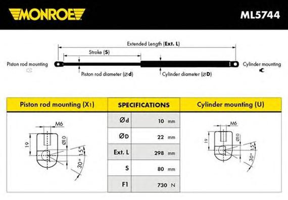 MONROE ML5744