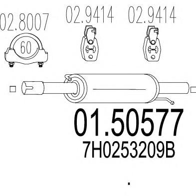 MTS 01.50577
