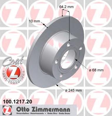 ZIMMERMANN 100.1217.20