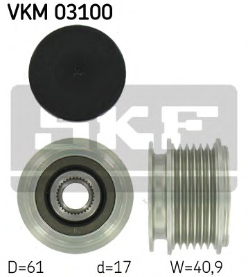 SKF VKM 03100