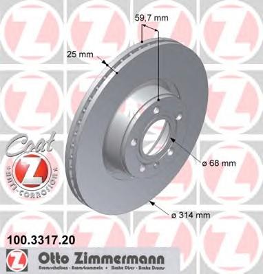 ZIMMERMANN 100.3317.20
