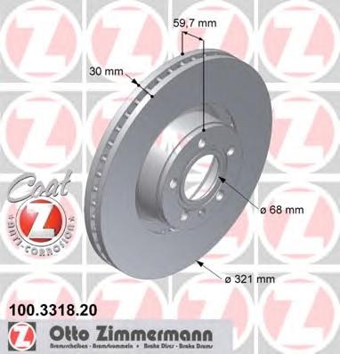 ZIMMERMANN 100.3318.20