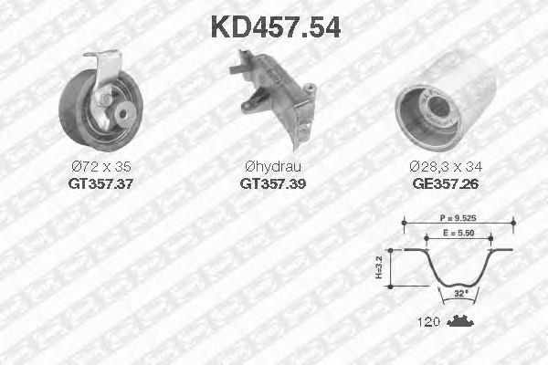 SNR KD457.54