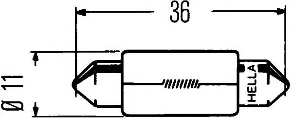 HELLA 8GM 002 092-121