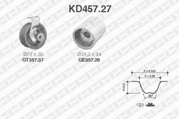 SNR KD457.27