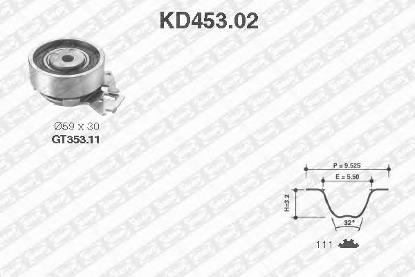 SNR KD453.02