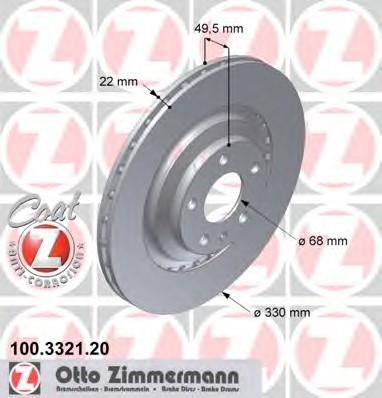 ZIMMERMANN 100.3321.20