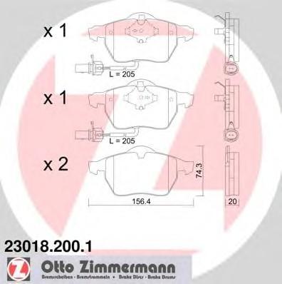 ZIMMERMANN 23018.200.1