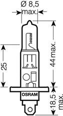OSRAM 64150ULT-02B