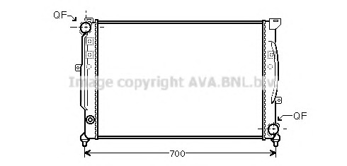 AVA QUALITY COOLING AIA2124