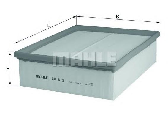MAHLE ORIGINAL LX 819