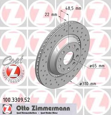 ZIMMERMANN 100.3309.52