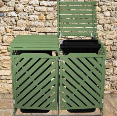 Les meilleurs abris extérieurs pour poubellescache-poubelle