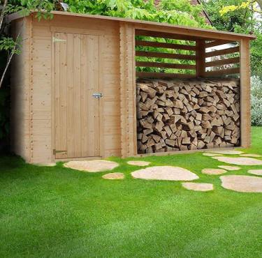 Quel abri extérieur pour bois de chauffage choisir ?abri de jardin range-bûches